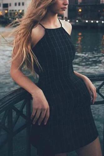 Maternity Sling Plaid Vintage Dress