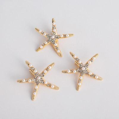 Fashion Starfish Bridal Hair Comb  Hair Clip Photography Accessories