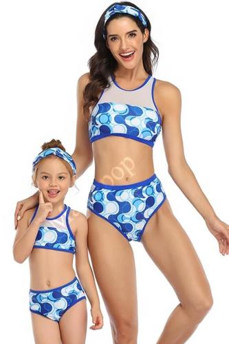 2020 Sports Parent-Children Swimsuit Bikini
