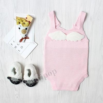 Autumn and Winter Angel wings Boys and Girls Baby knitting Wool  Clothes