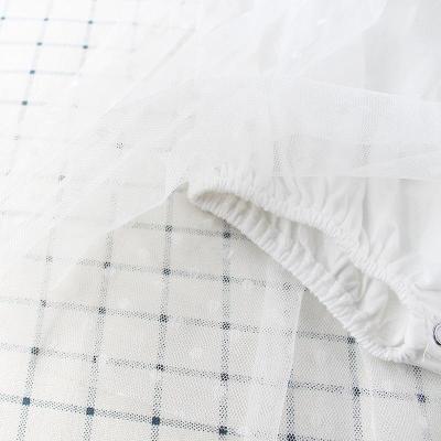 Baby Baby's Princess's Flying Sleeve Mesh Skirt Crawling Suit Harbin Skirt