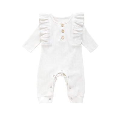 infant and children's clothing autumn bodysuit creeper pure cotton pit strip bodysuit