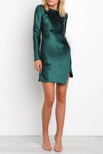 Sexy Lace Trim Mini Dress