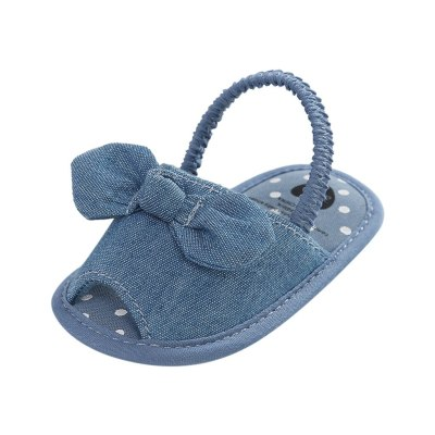 Newborn Baby Girl Shoes Toddler Kid Baby Girls Princess Cute Bow Toddler First Walk Summer Shoes