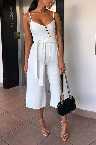 Maternity Sexy Halter Sling Jumpsuit