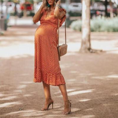 Summertime Polka Dots Dress
