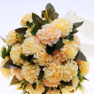 Holding Wedding Bouquet Silk Flower for Home Party Table Decoration Fall Decorations