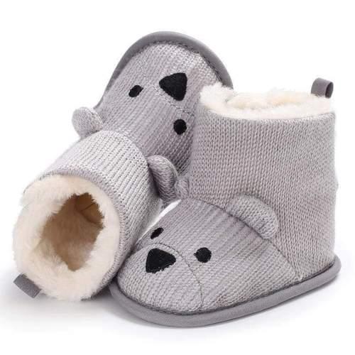 Bear Winter Plus Velvet Warm Baby Snow Boots