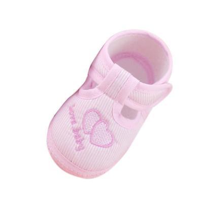 0-10m Newborn Girl Boy Girls Soft Sole Crib Toddler Shoes Canvas Sneaker High Quality First Walker