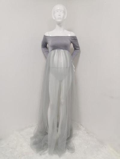 Pregnant Women's Skirt  Photograph Screen Dress Set