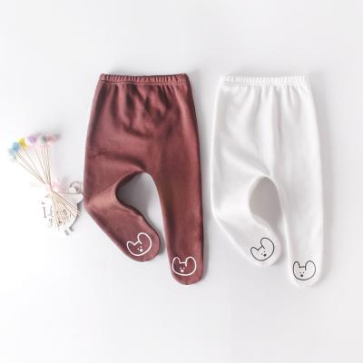 Fall  Winter  Baby Bear Cute Plush Bottomed Pantyhose