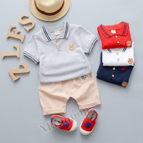 Children's clothing 2020 summer boys short sleeve new 1-2-3 year old men's summer short sleeve fashion POLO