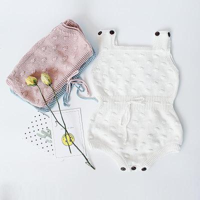 Baby Boys and Girls Knitting Wool One Piece Clothes