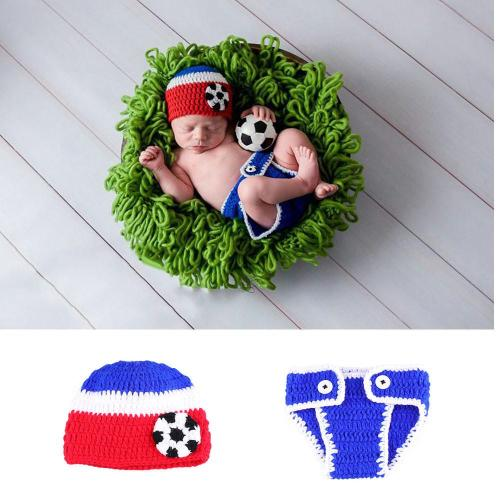 Football Player Costume for Newborn Boys