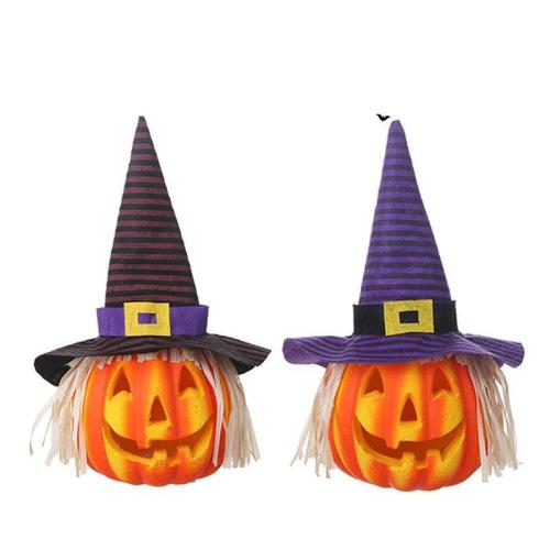 Halloween Glowing Scarecrow Pumpkin Lights Lighting Toys Pla