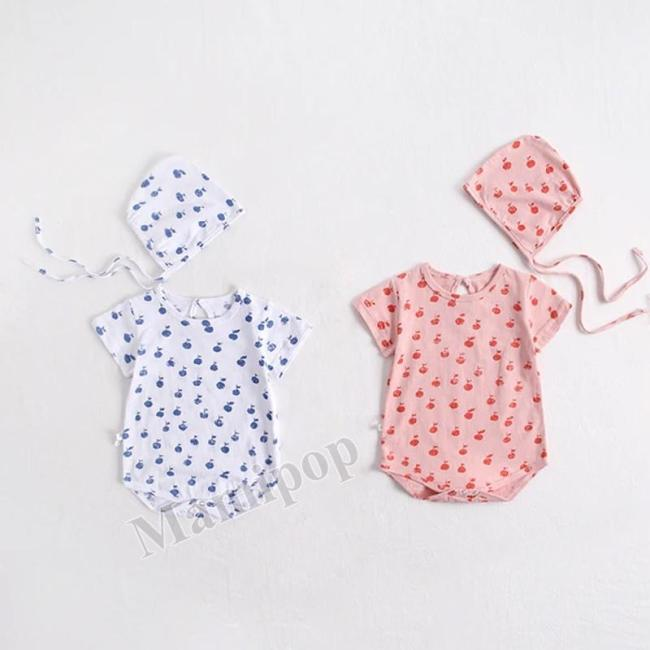 Summer 2020 New Girl Sleeve Bags Baby Cotton Suit Climbing Clothing
