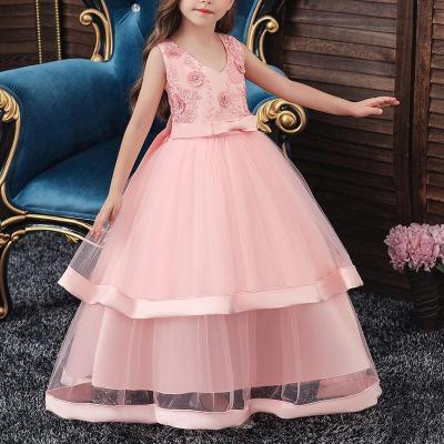Multi-Layered Lace Catwalk Princess Evening Dress