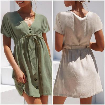 Maternity Cardigan Short-Sleeved Lace Dress