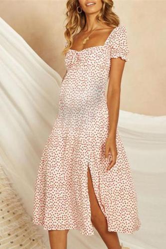 Maternity Bohemian Beach Summer Dress