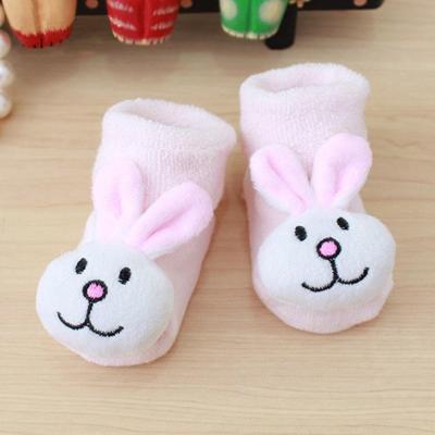 Cartoon Baby Girls Boys Socks Fashion Newborn Kids Baby Girls Boys No Slip Warm Socks