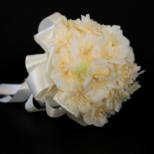 Big Artificial Rose Flowers Wedding Bride Bouquet Wreath Fake Rose Flowers DIY Home Flower Decorations