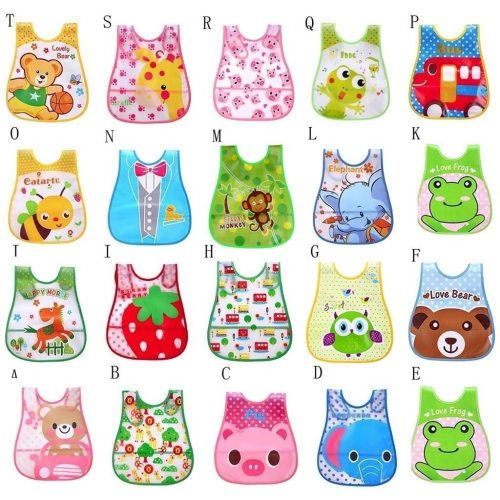 Infant Baby Bibs Waterproof Mouth To Baby Cloth Cute Kid Baby Soft Cartoon