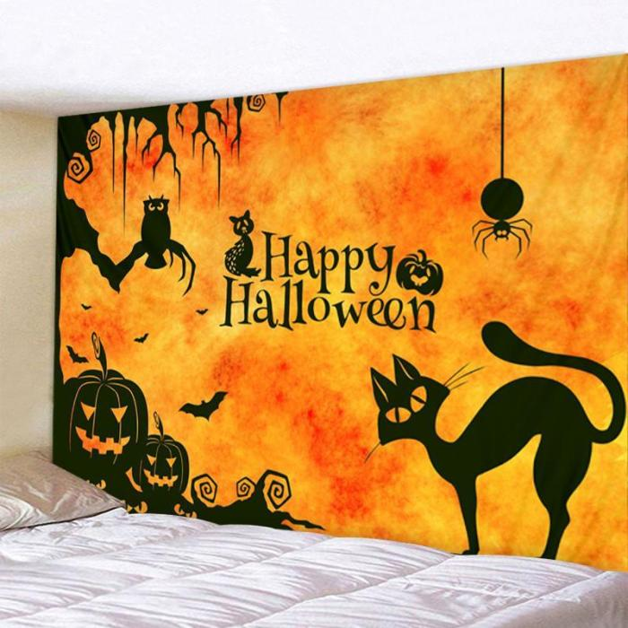 Halloween tapestry wall decoration