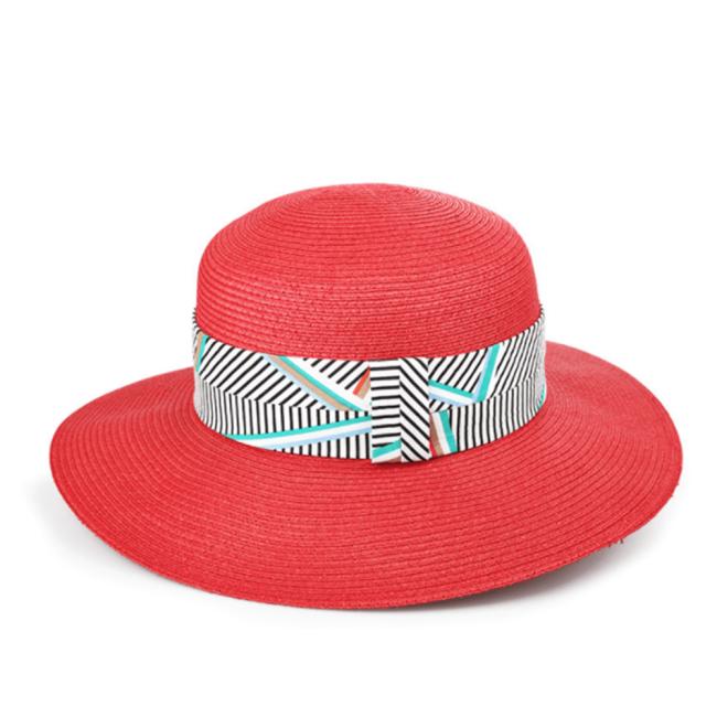 Fashion Striped Wild Sunshade Hat
