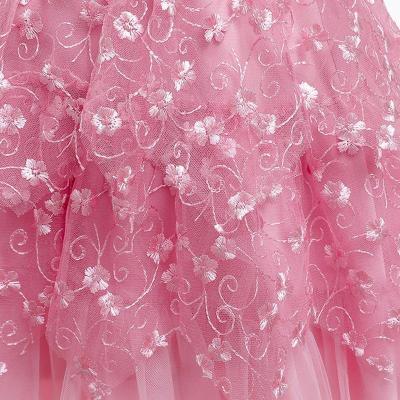 Sleeveless Multilayer Lace Princess Dress