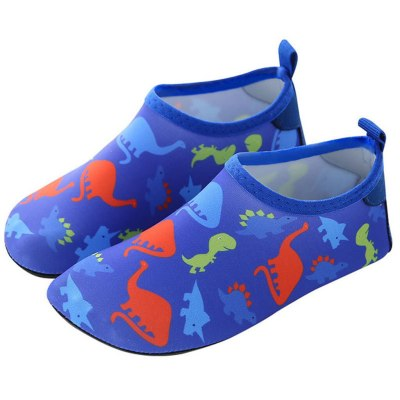 Hot sale kids shoes summer Boys Girls Quick Drying Swim Water Shoes Kids Cartoon Beach Barefoot Shoes