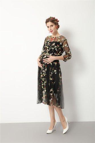Maternity Dresses Maternity Photography Props Pregnant Clothes Elegant Long Pregnant Dress