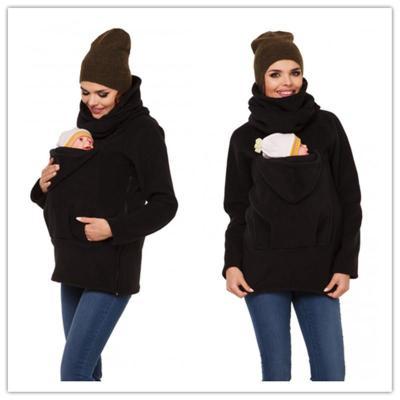 Fashion Pregnant Women Wear Multi-Functional Kangaroo Jackets Baby Coats