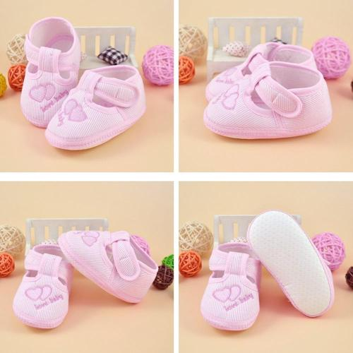 0-10m Newborn Girl Boy Girls Soft Sole Crib Toddler Shoes Canvas Sneaker High Quality First Walker