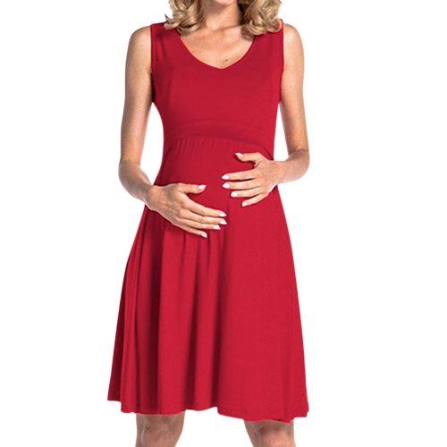 Maternity Pajamas Nightdress Women Maternity Dress Nursing Nightgown