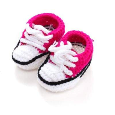 Handmade Crochet Booties Baby Shoes 10 cm
