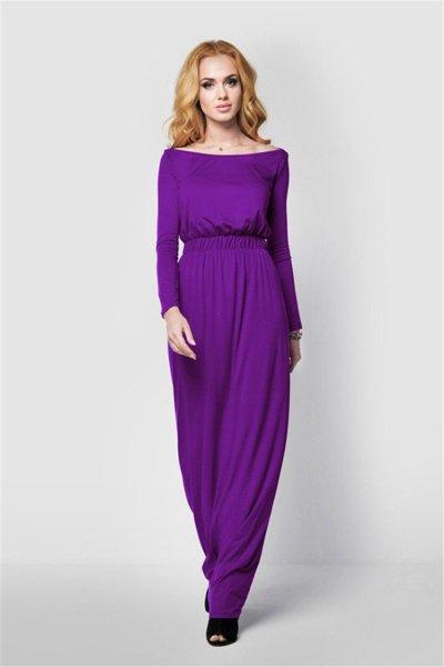 New Pregnancy Off-the- Shoulder High Elastic  Dress