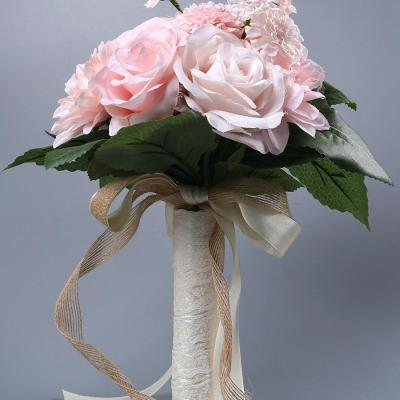 Artificial Flowers Bridal Bonquet Home Wedding Party Decoration Latex Real Touch Bonquet  Flower