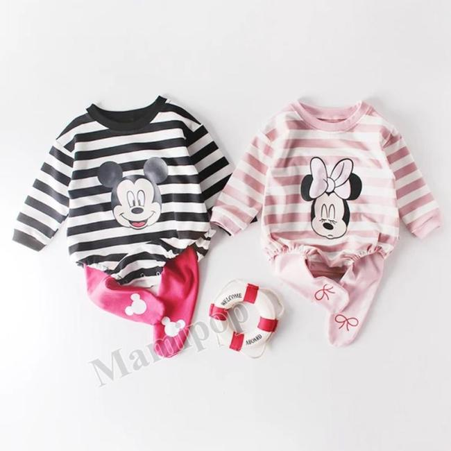 Baby's Clothes Striped Printed Clothes