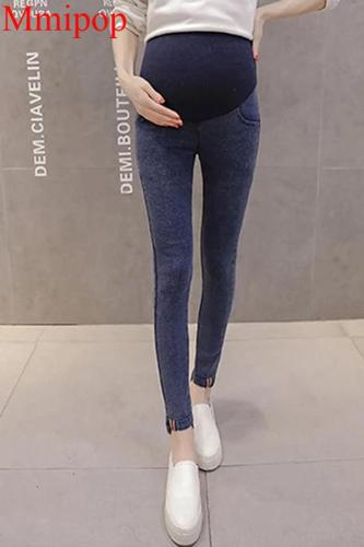 Denim Maternity  Jeans Pants For Pregnant Women