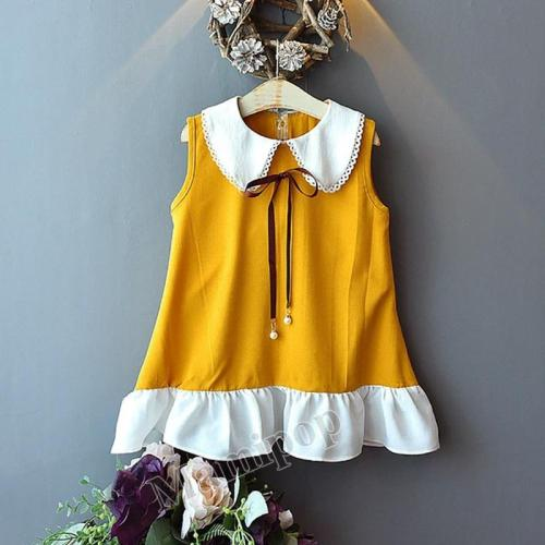 Children's Summer  Sleeveless Vest Skirt  Princess Skirt