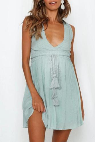Maternity V-Neck  Sundress