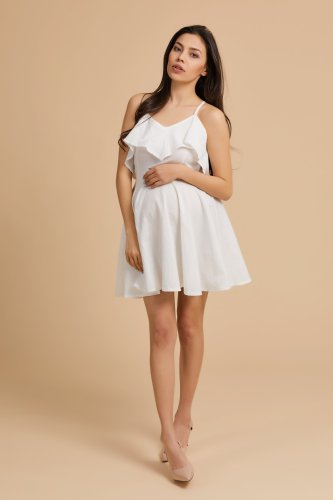 Maternity Suspender Dress