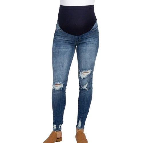 Ladies Maternity Pants Trousers Nursing Prop Belly Legging