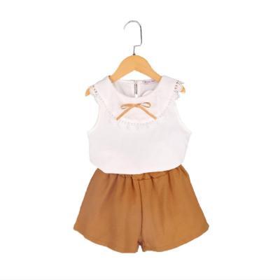 Summer  girls set fashion  shorts two-piece set