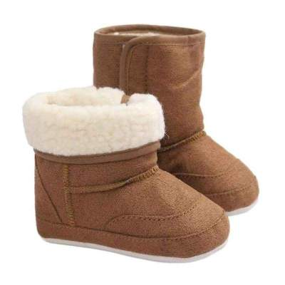 Winter Baby Toddler Shoes Footwear Warm Faux Fur Soft Sole Snow Boots