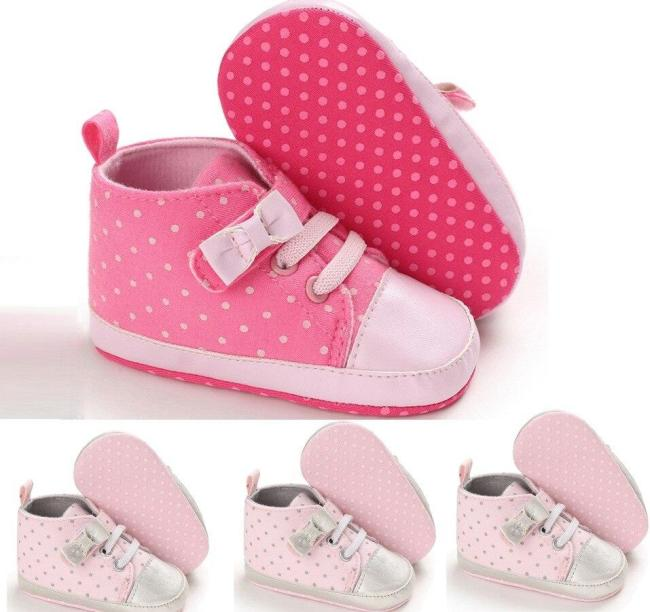 Newborn baby shoes casual shoes Toddler Bow Knot Baby Girls Cute Toddler First Walk Pot Boots Casual Shoes