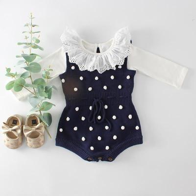 Spring 2020 Handmade Knitting  Jumpsuit  Clothes Cimbing Suit
