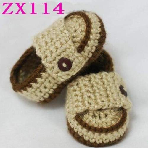 Baby Crochet Loafer Shoes 100% cotton (0-9 months)