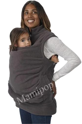 Maternity Clothes Multifunctional Kangaroo Sweater Baby Wear Sleeveless Jacket Vest