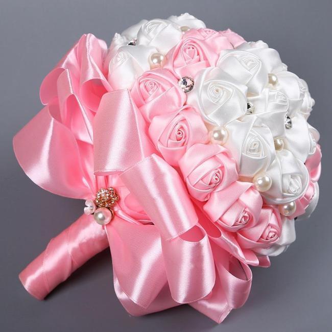 Flower Bonquet DIY Wreath Wedding Arch Valentines Day Home Party Decor